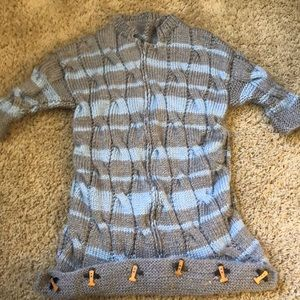 Hand-knit baby cozy - perfect for fall / winter!